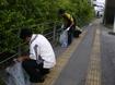 清掃活動(沖縄県レンタカー協会)